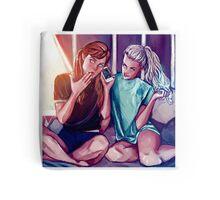 Anna and Elsa Tote Bag
