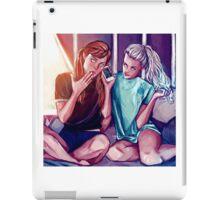 Anna and Elsa iPad Case/Skin