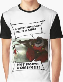 Rak - Tower of God - 'A shirt without me, is a shirt not worth wearing!!!!' Graphic T-Shirt