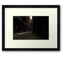 The Narrows (Zion) Framed Print