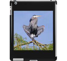 Yoga Heron iPad Case/Skin
