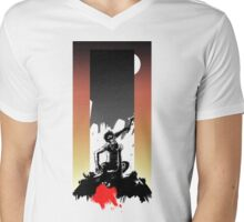 2001: A Space Odyssey - Dawn of Man - With Background Mens V-Neck T-Shirt