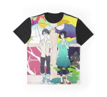 The Tatami Galaxy (Yojouhan Shinwa Taikei) - Akashi & Watashi Graphic T-Shirt