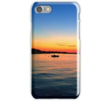 Beach Water Front Sunset iPhone Case/Skin