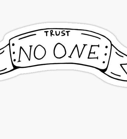 no one Sticker