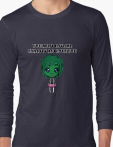Old Gregg Wants Love Long Sleeve T-Shirt