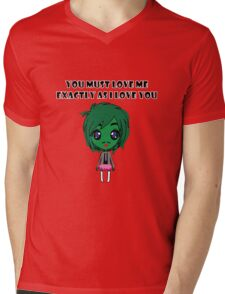 Old Gregg Wants Love Mens V-Neck T-Shirt