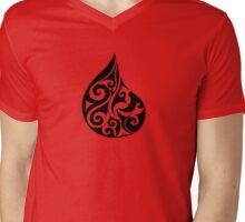 Hei Matau Tuarua  Mens V-Neck T-Shirt