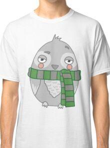 Wizard Owl - Green Classic T-Shirt