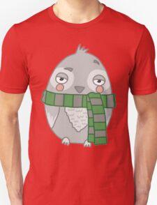 Wizard Owl - Green Unisex T-Shirt