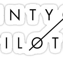 Twenty One Pilots Sticker Sticker