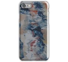 Abstract Watercolour Sketch iPhone Case/Skin