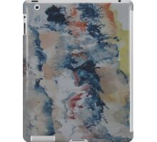 Abstract Watercolour Sketch iPad Case/Skin