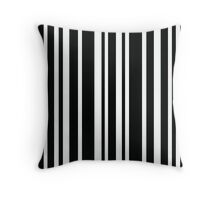 Messed Up Zebra Throw Pillow