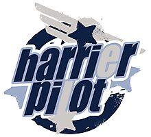 Harrier Pilot Photographic Print
