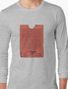 film plates box Long Sleeve T-Shirt