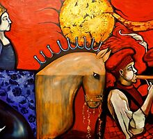 The Queen of Bohemia by Cassandra Dolen