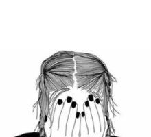depressed Sticker