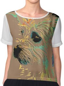 The Terrier Chiffon Top