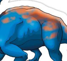 Blue Chasmosaurus Sticker