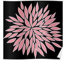 Pink Blossom Flower Poster