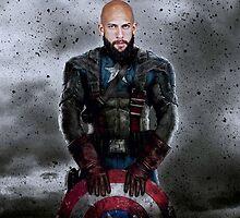 Tim Howard - Captain America by royalbaum