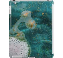 Green Water Marbling iPad Case/Skin