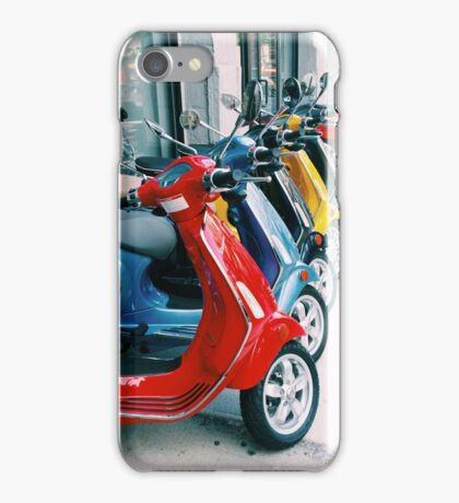 Scooters iPhone Case/Skin