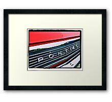 Pontiac Framed Print