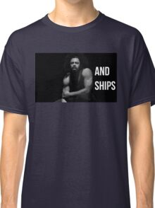 Guns and Ships Classic T-Shirt