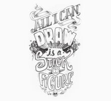 All I Can Draw Kids Tee
