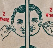 razor ad Sticker