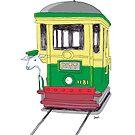 Lamb on a Tram by Joel Tarling