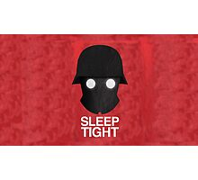 Sleep Tight Soldier Silhouette  Photographic Print