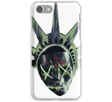 THE PURGE: liberty MASK iPhone Case/Skin