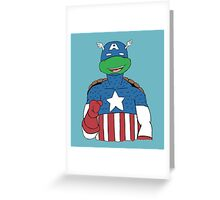 American Turtle Greeting Card
