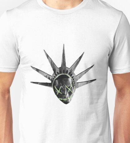 THE PURGE: liberty MASK BW Unisex T-Shirt