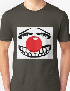 Big red nose, big teeth. big fun Unisex T-Shirt