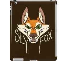 Sly Fox - Light Text iPad Case/Skin