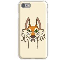 Sly Fox - Dark Text iPhone Case/Skin