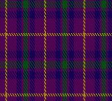 01799 Bryson (2000) Clan/Family Tartan  Sticker