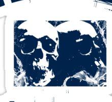 DEATH METAL UNIVERSITY - BLUE Sticker