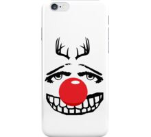 Red nose parody iPhone Case/Skin