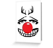Red nose parody Greeting Card