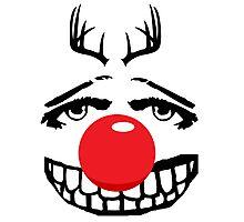 Red nose parody Photographic Print