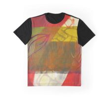 Fushia Strata Graphic T-Shirt