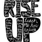 Hamilton: Rise Up by jamaziing