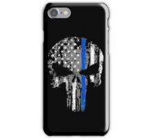 Punisher - Blue Line V3 iPhone Case/Skin