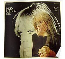 Nico- Chelsea Girl, Stereo lp Cover Poster