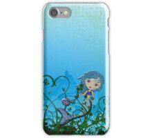 Taking My Goldfish For A Swim iPhone Case/Skin
